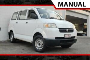 2007 Suzuki APV White 5 Speed Manual Van Ashmore Gold Coast City Preview
