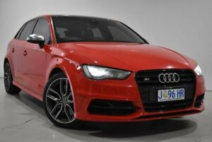2014 Audi S3 8V MY14 Sportback S Tronic Quattro Red 6 Speed Sports Automatic Dual Clutch ...