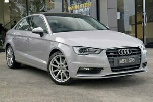 2014 Audi A3 8V MY14 Ambition S Tronic Quattro Grey 6 Speed Sports Automatic Dual Clutch Sedan Berwick Casey Area Preview