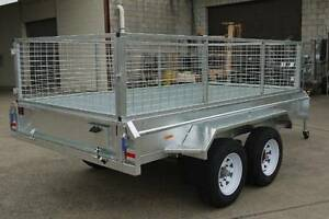 Hot Diped Gal Tandem Trailers 12x6 10x6 10x5 8x5 Maryborough Fraser Coast Preview