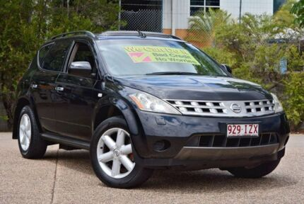 2005 Nissan Murano Z50 TI Black 6 Speed Constant Variable Wagon