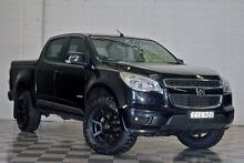 2012 Holden Colorado RG LT Black 6 Speed Automatic Dual Cab Burleigh Heads Gold Coast South Preview