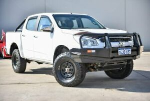 2015 Holden Colorado RG MY15 Storm Crew Cab White 6 Speed Manual Utility Midvale Mundaring Area Preview