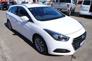 2016 Hyundai i40 VF4 Series II Active Tourer Ceramic White 6 Speed Sports Automatic Wagon Townsville Townsville City Preview