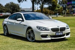 2016 BMW 6 Series F06 LCI 640d Gran Coupe Steptronic White 8 Speed Sports Automatic Sedan Burswood Victoria Park Area Preview