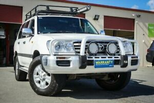 2006 Toyota Landcruiser HDJ100R GXL White 5 Speed Manual Wagon Coopers Plains Brisbane South West Preview