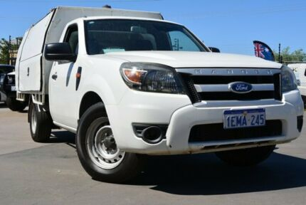2010 Ford Ranger PK XL (4x2) White 5 SP MANUAL Cab Chassis Kewdale Belmont Area Preview