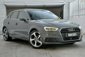 2019 Audi A3 8V 35 TFSI Grey Sports Automatic Dual Clutch Berwick Casey Area Preview