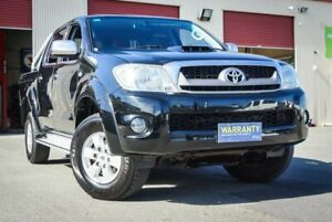 2010 Toyota Hilux KUN26R MY10 SR5 Black 5 Speed Manual Utility Coopers Plains Brisbane South West Preview