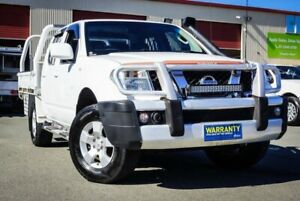 2010 Nissan Navara D40 ST White 5 Speed Automatic Utility Coopers Plains Brisbane South West Preview