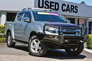 2013 Isuzu D-MAX MY12 LS-Terrain Crew Cab Silver 5 Speed Manual Utility Yeerongpilly Brisbane South West Preview