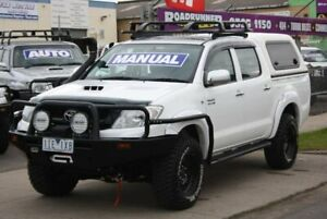 2010 Toyota Hilux KUN26R MY10 SR White 5 Speed Manual Utility Altona North Hobsons Bay Area Preview