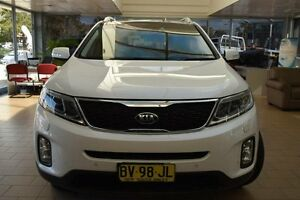 2013 Kia Sorento XM MY14 Platinum (4x4) White 6 Speed Automatic Wagon Belconnen Belconnen Area Preview