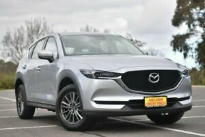 2017 Mazda CX-5 KF4W2A Touring SKYACTIV-Drive i-ACTIV AWD Silver 6 Speed Sports Automatic Wagon Enfield Port Adelaide Area Preview