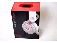 Beats Mixr DJ Lightweight Headphones White Brand New £250