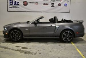 2014 Ford Mustang GT/CS cabriolet + 5.0 litres + manuelle + Wow
