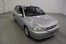 2005 Kia Rio BC MY04 LS HATCHBACK 5DR AUTO 4SP 1.5I Silver 4 Speed Automatic Hatchback Moorabbin Kingston Area Preview
