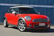 2011 Mini Hatch R56 LCI Cooper Steptronic Chilli Red 6 Speed Sports Automatic Hatchback Tweed Heads Tweed Heads Area Preview