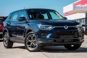 2019 Ssangyong Korando C300 MY20 ELX 2WD Blue 6 Speed Sports Automatic Wagon Springwood Logan Area Preview