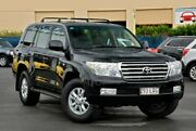 2008 Toyota Landcruiser UZJ200R Sahara Black 5 Speed Sports Automatic Wagon Chinderah Tweed Heads Area Preview