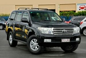 2008 Toyota Landcruiser UZJ200R Sahara Black 5 Speed Sports Automatic Wagon