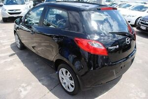 2012 Mazda 2 DE10Y2 MY13 Neo Black 5 Speed Manual Hatchback Townsville Townsville City Preview