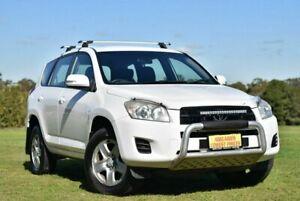 2010 Toyota RAV4 ACA38R MY09 CV 4x2 White 5 Speed Manual Wagon Enfield Port Adelaide Area Preview