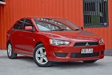 2013 Mitsubishi Lancer CJ MY13 ES Sportback Red 6 Speed Constant Variable Hatchback Molendinar Gold Coast City Preview