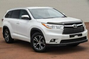 2016 Toyota Kluger GSU55R GXL AWD White 8 Speed Sports Automatic Wagon Morley Bayswater Area Preview