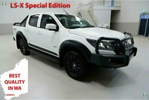 2018 Holden Colorado RG MY18 LS-X Special Edition White 6 Speed Automatic Crew Cab Utility Kenwick Gosnells Area Preview