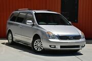 2011 Kia Grand Carnival VQ MY11 SI Silver 6 Speed Sports Automatic Wagon Molendinar Gold Coast City Preview