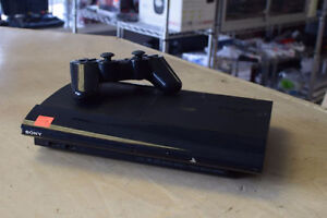 Playstation 3 500GB plus all cords and one controller*