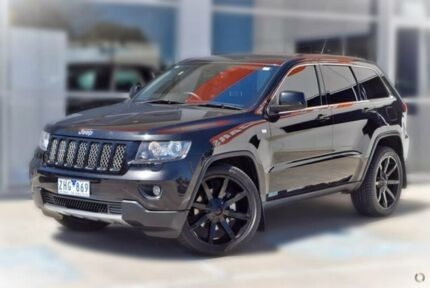 2012 Jeep Grand Cherokee WK MY2012 JET Black 5 Speed Sports Automatic Wagon