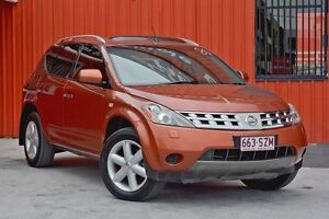 2008 Nissan Murano Z50 TI Orange 6 Speed Constant Variable Wagon Molendinar Gold Coast City Preview