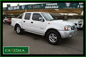 2013 Nissan Navara D22 Series 5 ST-R (4x4) White 5 Speed Manual Dual Cab Pick-up Seven Hills Blacktown Area Preview