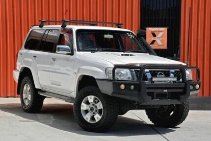 2011 Nissan Patrol GU 7 MY10 ST White 5 Speed Manual Wagon Molendinar Gold Coast City Preview