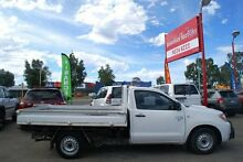 2007 Toyota Hilux KUN16R MY07 SR White 5 Speed Manual Cab Chassis Bellevue Swan Area Preview