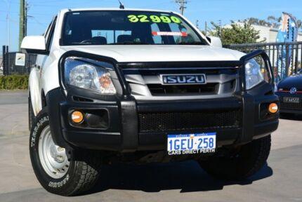 2014 Isuzu D-MAX TF MY15 SX (4x4) White 5 Speed Automatic Crew Cab Utility