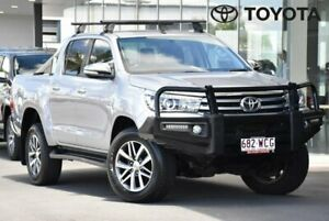 2015 Toyota Hilux GUN126R SR5 Silver Sports Automatic Indooroopilly Brisbane South West Preview