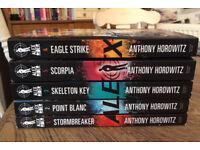 Alex Rider books, brand new and unread