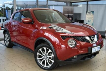 2015 Nissan Juke F15 TI-S (AWD) Magnetic Red Continuous Variable Wagon