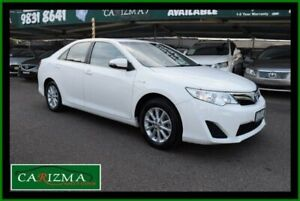 2015 Toyota Camry AVV50R Hybrid H White Continuous Variable Sedan Seven Hills Blacktown Area Preview