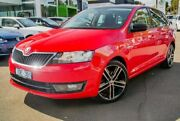 2014 Skoda Rapid NH MY14 Elegance Spaceback DSG Red 7 Speed Sports Automatic Dual Clutch Hatchback Nunawading Whitehorse Area Preview