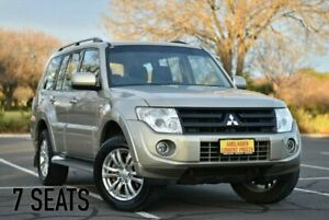 2013 Mitsubishi Pajero NW MY13 GLX-R Beige 5 Speed Sports Automatic Wagon Melrose Park Mitcham Area Preview