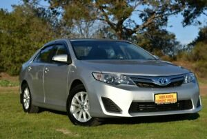 2013 Toyota Camry AVV50R Hybrid H Silver 1 Speed Constant Variable Sedan Hybrid Enfield Port Adelaide Area Preview