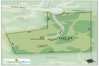 Lot For Sale in Kennebec Shores Waterfront Community