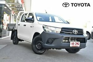 2015 Toyota Hilux GUN122R Workmate White Manual Indooroopilly Brisbane South West Preview
