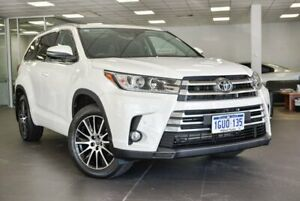 2018 Toyota Kluger GSU55R Grande AWD White 8 Speed Sports Automatic Wagon Bellevue Swan Area Preview