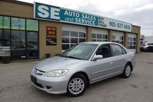 2004 Honda Civic LX Sedan Certified $3795