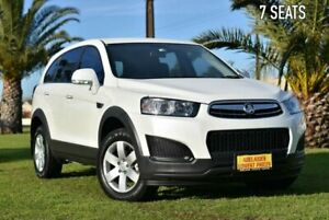 2014 Holden Captiva CG MY14 7 LS White 6 Speed Sports Automatic Wagon Cheltenham Charles Sturt Area Preview